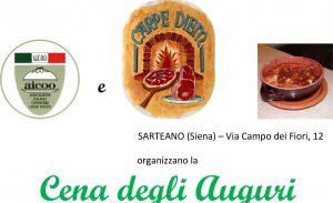 Sarteano Cena degli Auguri - mercoledi 14 dicembre 2016 @ Carpe Diem | Sarteano | Toscana | Italia