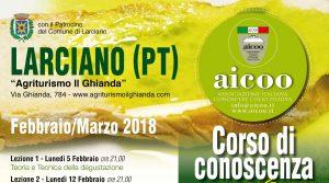 Corso Primo Livello - Larciano (PT) - Febbraio Marzo 2018 @ agriturismo  il ghianda | Toscana | Italia