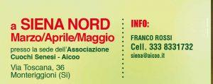 Corso Primo Livello - Siena @ Ass. Cuochi - Siena | Toscana | Italia